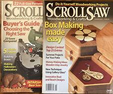 ScrollSaw Workshop Scroll Saw Woodworking & Crafts Magazine No 39 / 40 & Plans