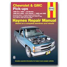 Haynes Repair Manual for 1995-1999 Chevrolet Tahoe - Shop Service Garage as