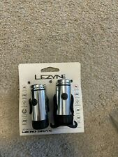 Lezyne Micro Drive Front & Rear Bicycle Light Set USB Charge 200 Lumens