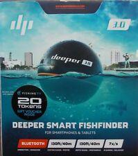 Deeper 3.0 Smart Wireless Fishfinder ~ Display Bluetooth Smartphones Tablets