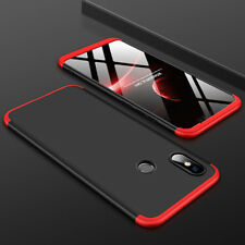 For Xiaomi MI 8 SE 360° Full Protective Hybrid Silm Case + Tempered Glass Cover