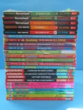 24 Give Yourself Goosebumps HorrorLand MOST WANTED BONE CHILLERS lot R.L. Stine