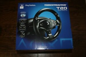 NEW!! Thrustmaster T80 Racing Wheel & Pedals 4169071 for Playstation PS3 / PS4