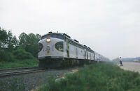 Southern Rwy, RF&P - Six 25mm Kodachrome Slides (1977): Crescent, Freight, More.