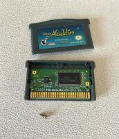 Disney's Aladdin GBA (Nintendo Game Boy Advance, 2004) AUTHENTIC! Tested