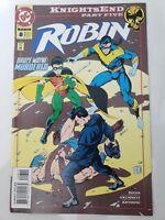 ROBIN #8 (1994) DC COMICS KNIGHTSEND Part 5 NIGHTWING! BRUCE WAYNE BATMAN! NM