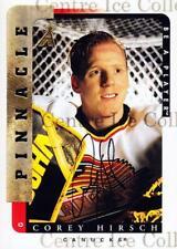 1996-97 Be A Player Auto #51 Corey Hirsch