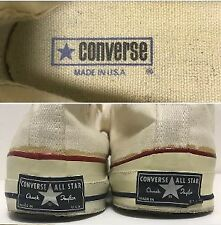 6d03e86060ca 70s Chuck Taylor Converse USA made Vintage All Star Men s Size 28.5 cm or  more