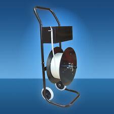 Universal-Abrollwagen für Textil- und Komposit-Umreifungsband 5 - 25 mm