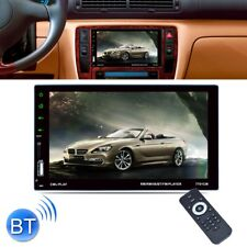 "7"" Bluetooth Autoradio 2 DIN Touch Screen Stereo MP4 MP3 Media Player USB FM IT"