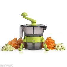 Torre de frutas y verduras patatas cortador máquina de cortar spudnik Pelador de cocina verde