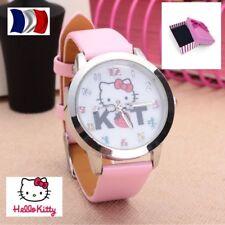 Montre Enfant Hello Kitty Rose dans écrin M1