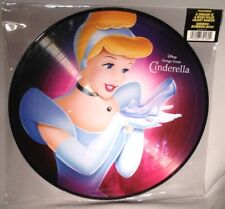 LP SOUNDTRACK Cinderella (PICTURE DISC Walt Disney 2015) NEW MINT