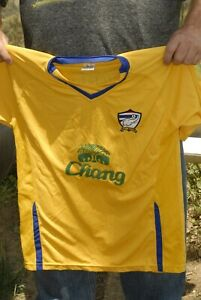 Thailand National team soccer jersey Stitched logo #8 elephant logo stitched NM+