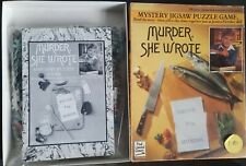 Murder She Wrote Mystery Jigsaw Puzzle Game Recipe For Murder - Complete