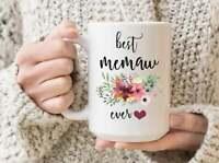 Best Memaw Ever Mug  Memaw Mothers Day Gift Memaw Birthday Gift Gift For Grandma