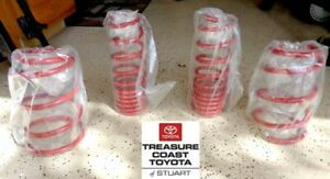 NEW OEM TOYOTA COROLLA MATRIX TRD LOWERING SPRINGS FRONT AND REAR