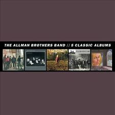ALLMAN BROTHERS BAND 5 Classic Albums [5-CD SET] BRAND NEW SEALED Free Shipping
