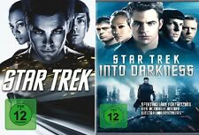 2 DVDs *  STAR TREK 11 + 12 - Into Darkness - Chris Pine  # NEU OVP +