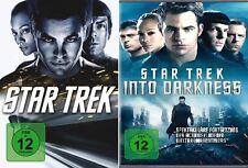 2 DVDs *  STAR TREK 11 + 12 - Into Darkness - Chris Pine  # NEU OVP +
