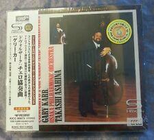 Dvorak Concerto For Violincello and Orchestra Gary Karr Japan XRCD24 SHM CD New