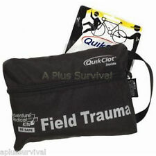 QuikClot Field Trauma Tactical Pack Clot Blood Stopper First Aid Survival Kit