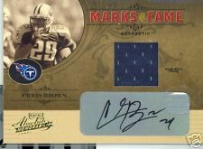 05 ABSO MEMO MARKS/ FAME MTRL AUTO CHRIS BROWN 54/250