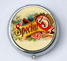 Special 5 PILL CASE pillbox pill holder hipster FLOWERS