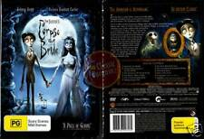 CORPSE BRIDE Tim Burton =Johnny Depp= NEW SEALED DVD R4 (Region 4 Australia)
