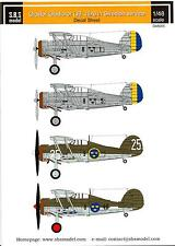 SBS Models Decals 1/48 GLOSTER GLADIATOR (J8 & J8A) Swedish Air Force Part 1