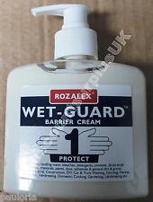 1x 250ml ROZALEX WET-GUARD Barrier Cream *Hand Protection* Garage DIY RR37