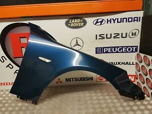 BMW 5 SERIES E60 E61 2003-2010 O/S RIGHT FRONT WING IN BLUE AFTERMARKET