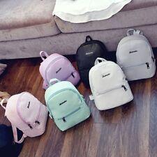 Women Fashion Leather Backpack Rucksack Travel School Bag Shoulder Bags Satchel