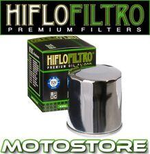 HIFLO CHROME OIL FILTER FITS YAMAHA VMX1200 V-MAX 1996-2007