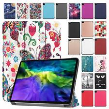 """For iPad Pro 11"""" 2nd Gen 2020 Case Smart Flip Leather Magnet Folded Stand Cover"""