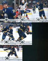 2019-20 Upper Deck Series 1 & 2 Buffalo Sabres Veterans Team Set of 13 Cards