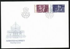 Norway 1999 Fdc Centenary Of The National Theatre
