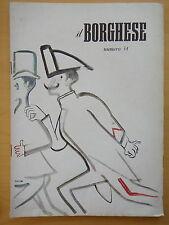 1954-IL BORGHESE-Direttore LEO LONGANESI-Anno V, Numero 34