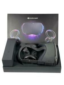 Oculus Quest 64GB VR Headset Black Extras Oculus Headphones and VR Cover