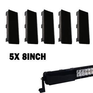 "40"" inch Black Cover 5x 8"" For Led Light Bar ATV SUV TRUCK 4X4 UTE BOAT 4WD"