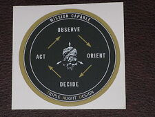 TAD TRIPLE AUGHT DESIGN OODA LOOP STICKER DECAL New Prometheus Design Werx PDW