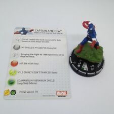 Heroclix Marvel 10th Anniversary set Captain America (Skrull) #023 Chase w/card!