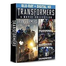 Transformers 4 Movie Collection Blu-Ray W/ BONUS DISC 5 disc set + Slip Cover