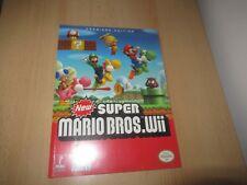 Nuovo Super Mario Bros Wii Prima Ufficiale Strategia Guide- Premiere Edizione