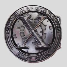 Marvel Comics X-MEN XAVIER'S SCHOOL Crest Metal BELT BUCKLE