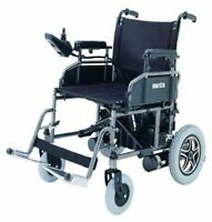 "Merits P101 Folding Power Chair, Electric Wheelchair, 16"" Wide Seat"