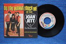 JOAN JETT & THE BLACKHEARTS / SP BOARDWALK 101689 / VERSO 1 / 1982 ( F )