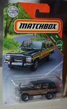 MATCHBOX '89 JEEP GRAND WAGONEER MBX ROAD TRIP SERIES 7/20 NEW
