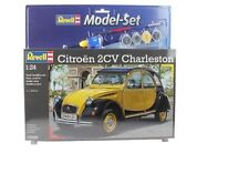 Set CITRÖEN 2cv 'CHARLESTON' - 1983 - KIT REVELL 1/24 n° 67095
