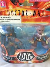Doctor Who (BBC) TIME SQUAD Action Figure Pyrovile & Scarecrow -2 pack - New